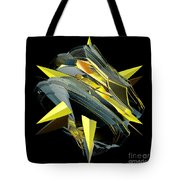 Star Of Yellow Tote Bag