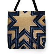 Star On Iron Gate Tote Bag