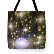 Star Particles Tote Bag