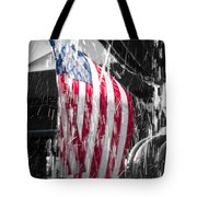 Star Spangled Splash  Tote Bag