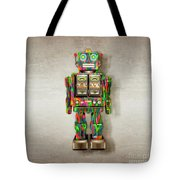 Star Strider Robot Psyc Tote Bag