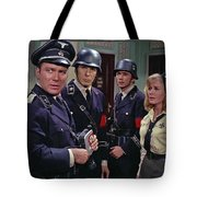 Star Trek Patterns Of Force Episode Publicity Photo Number Two 1968 Tote Bag