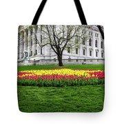 Star Tulips Tote Bag