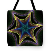 Star Twist Spiral Tote Bag
