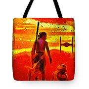 Star Wars 8 Last Jedi - Pa Tote Bag