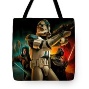 Star Wars Fighters Tote Bag
