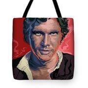 Star Wars Han Solo Pop Art Portrait Tote Bag