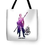 Star Wars Rey And Bb-8 Tote Bag