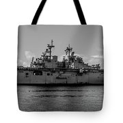 Starboard Boxer Tote Bag