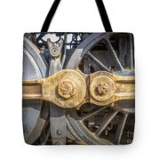 Starboard Drive Wheels And Connecting Rods No. 9000 Tote Bag
