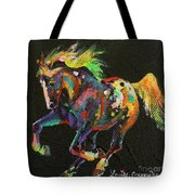 Starburst Pony Tote Bag