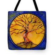 Stardust Tree Tote Bag