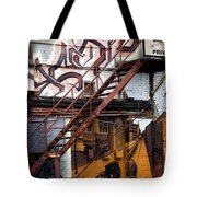 Stare Stair Tote Bag by Lisa Knechtel