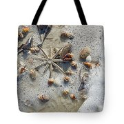 Starfish And Sea Shells Tote Bag