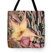 Starfish Cactus Tote Bag