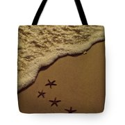 Starfish Constellation Tote Bag