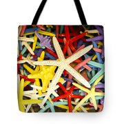 Starfish Dressed Up Tote Bag