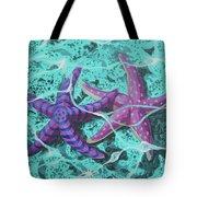 Starfish In Love Tote Bag