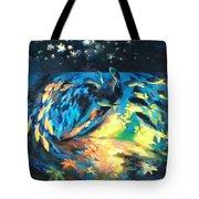 Starfish Night Tote Bag