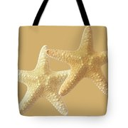 Starfish On White Tote Bag