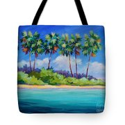 Starfish Point 20x16 Tote Bag
