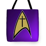 Starfleet Pastor  Tote Bag