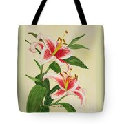 Stargazer Lilies - Watercolor Tote Bag
