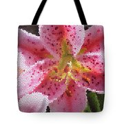 Stargazer Stained Glass Tote Bag