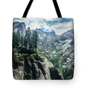 Staring At The Continental Divide Tote Bag