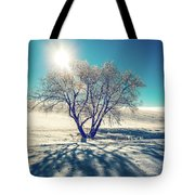 Stark Shadows Tote Bag