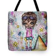 Starla Jones The 3rd Intergalactic Star Jumper Tote Bag