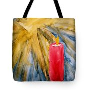 Starlight And Candlelight Tote Bag