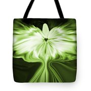 Starlight Angel - Green Tote Bag