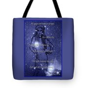 Starlight Of Space And Time 4 Tote Bag