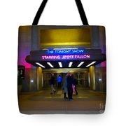 Starring Jimmy Fallon Tote Bag