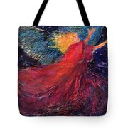 Starry Angel Tote Bag