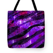 Starry Eyed And Black Lace Tote Bag