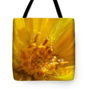 Starry Goldeneye Tote Bag