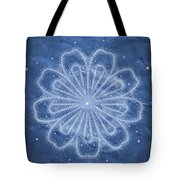 Starry Kaleidoscope Tote Bag