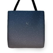 Starry Morning Sky Tote Bag