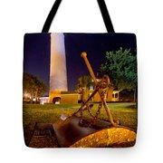 Starry Night Big Light Tote Bag