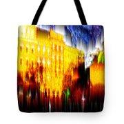 Starry Night In Prague Tote Bag