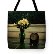 Starry Night In Spring Tote Bag