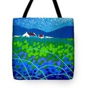 Starry Night In Wicklow Tote Bag by John  Nolan