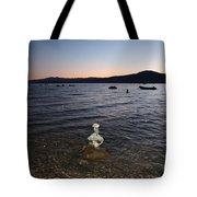 Starry Sky Over Lake Tahoe Tote Bag