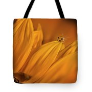 Starry Sunflower Tote Bag