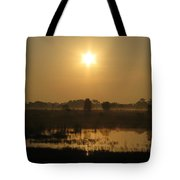 Starry Sunrise Tote Bag