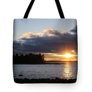 Starry Sunset Tote Bag