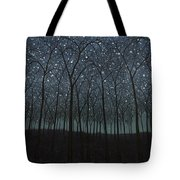 Starry Trees Tote Bag