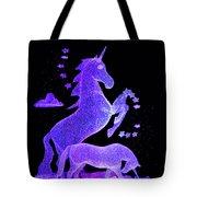 Starry Unicorns Tote Bag